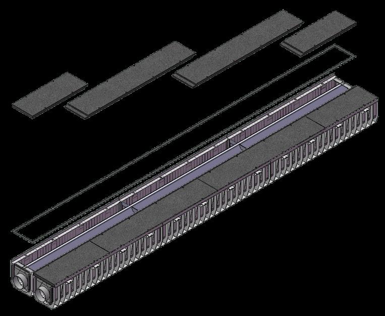 Blocco drenante modulare Ecoplants-mobile