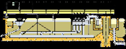 Chiarificatore a trazione periferica aspirato-mobile