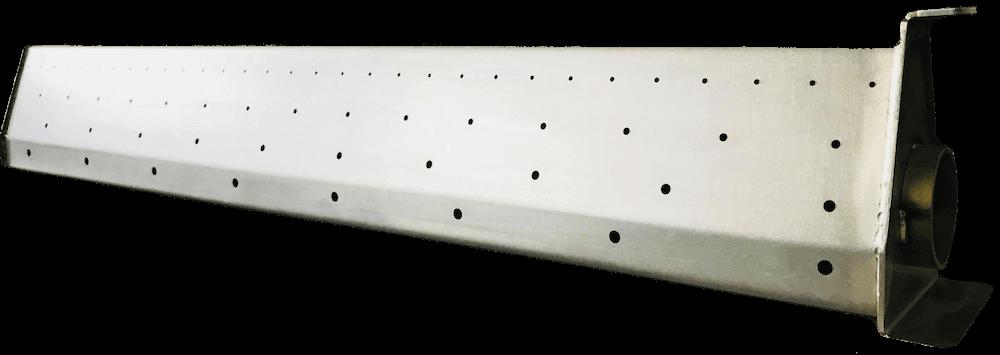 Diffusore d'aria a tubo metallico-mobile