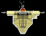 Dissabbiatore-disoleatore circolare aerato-mobile