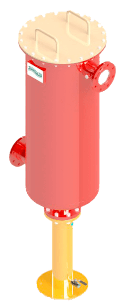 Filtro a candele ceramiche per biogas Ecoplants Italia-mobile