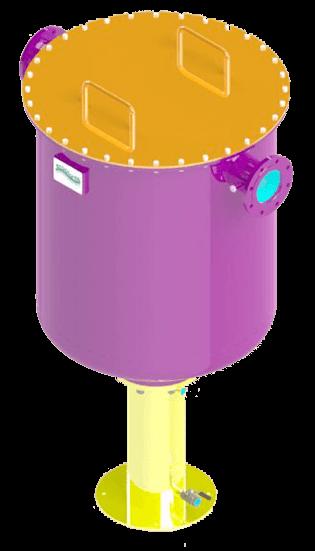Filtro a graniglia per biogas Ecoplants-mobile