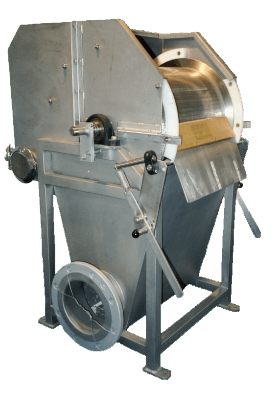 Griglia a tamburo rotante a barrette-mobile
