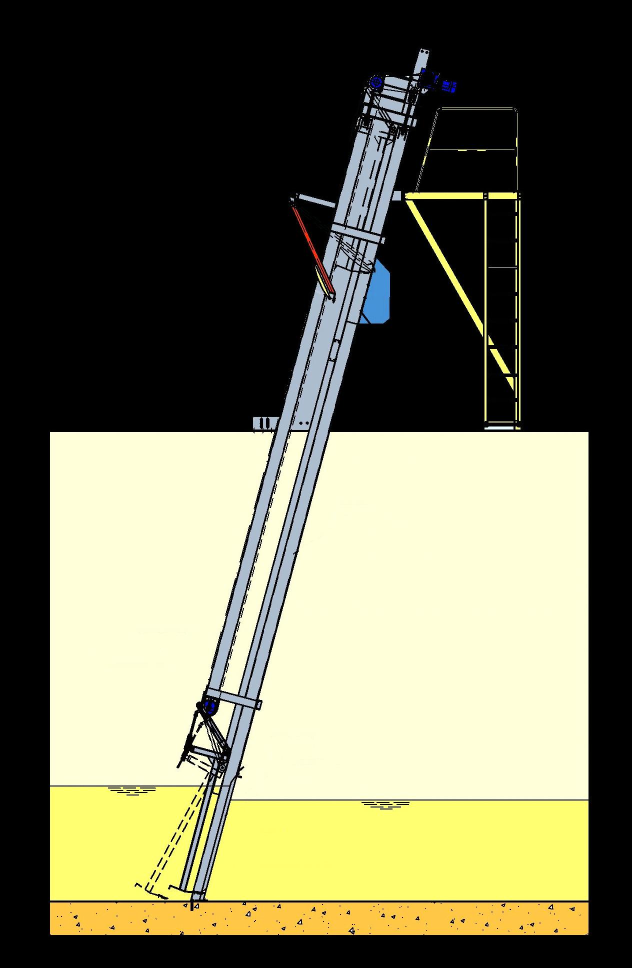 Griglie meccaniche a barre a pulizia frontale con catena-mobile