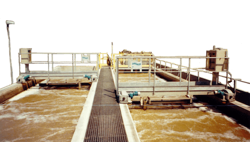 Dissabbiatore disoleatore con ponte traslante-mobile