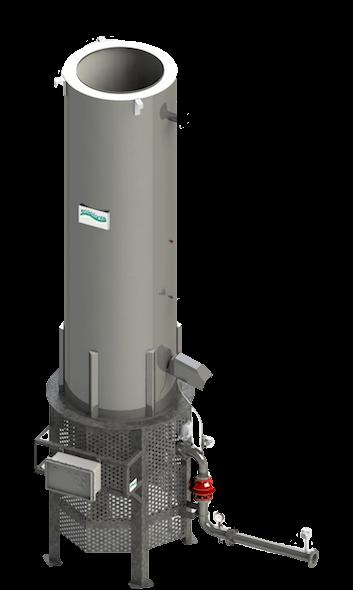 Torcia chiusa per biogas Ecoplants-mobile