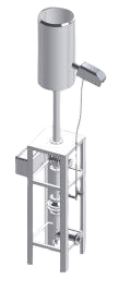 Torcia semi chiusa per biogas Ecoplants Italia Parma-mobile