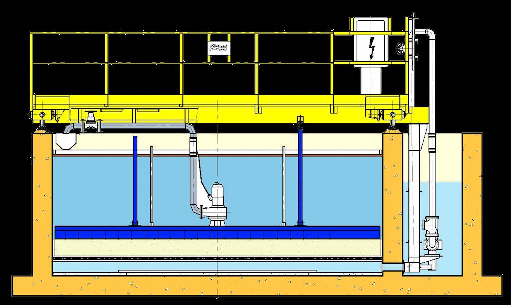 Unita combinata di flottazione e filtrazione Ecoplants italia Parma-mobile
