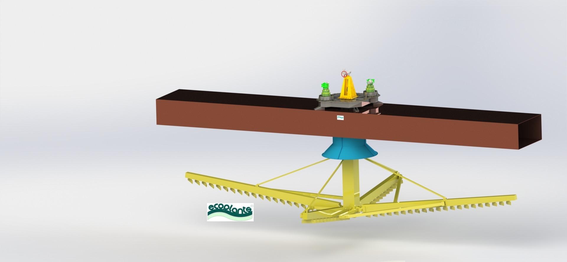 Addensatore circolare a ponte intero-mobile